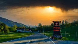 Австрия граница
