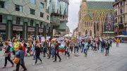 Протест във Виена
